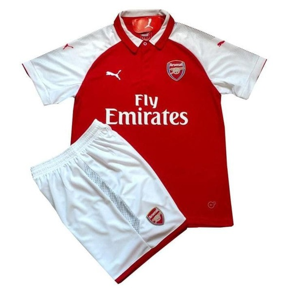 Арсенал (Arsenal) домашняя детская форма сезон 2017-2018