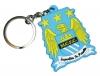 Брелок с эмблемой Манчестер Сити