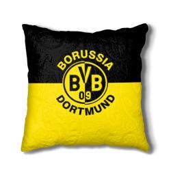 Наволочка на подушка с эмблемой Боруссии